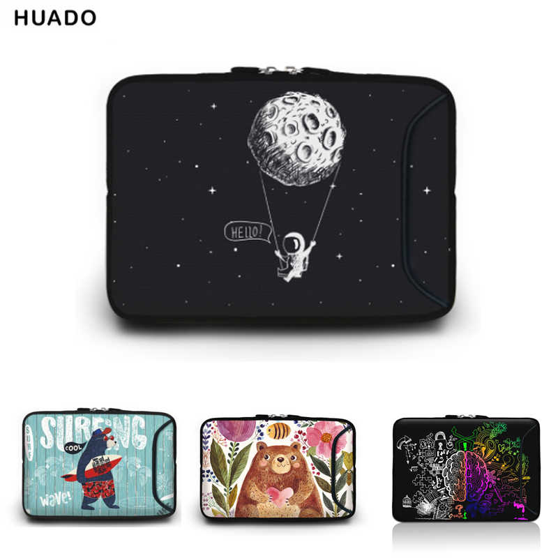 Draagbare Laptop Tas Voor Macbook 10 11.6 13.3 14.4 15.4 15.6 17 17.3 Inch Netbook Zipper Sleeve Case Tablet Cover computer Tassen