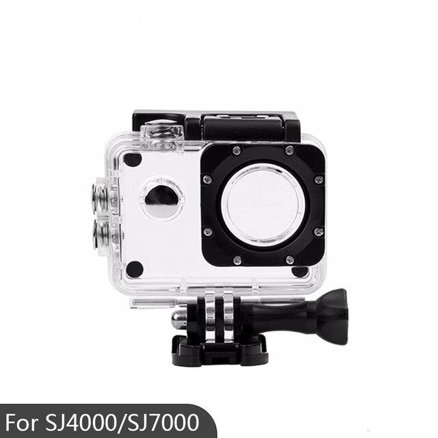 Capa à prova dágua para câmera, caixa de ação esportiva para câmera sj4000/sj7000/sj4000 wifi/sjcam