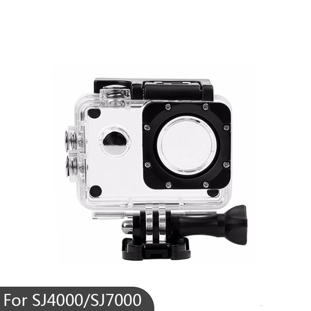 الرياضة عمل كاميرا صندوق حافظة مثبت مضاد للماء ل SJ4000/SJ7000/SJ4000 Wifi/SJCAM مثبت مضاد للماء غطاء