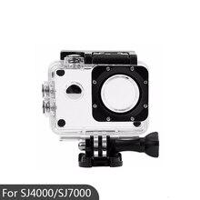 ספורט פעולה מצלמה תיבת מקרה עמיד למים דיור מקרה עבור SJ4000/SJ7000/SJ4000 Wifi/SJCAM עמיד למים שיכון כיסוי