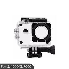 Sport Action Camera Box Case Waterproof Housing Case For SJ4000/ SJ7000 /SJ4000 Wifi /SJCAM Waterproof housing cover