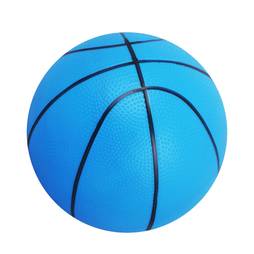 Pack 2 Lightweight PVC 16cm Mini Basketball Bouncy Ball Kids Boys Girls Toy