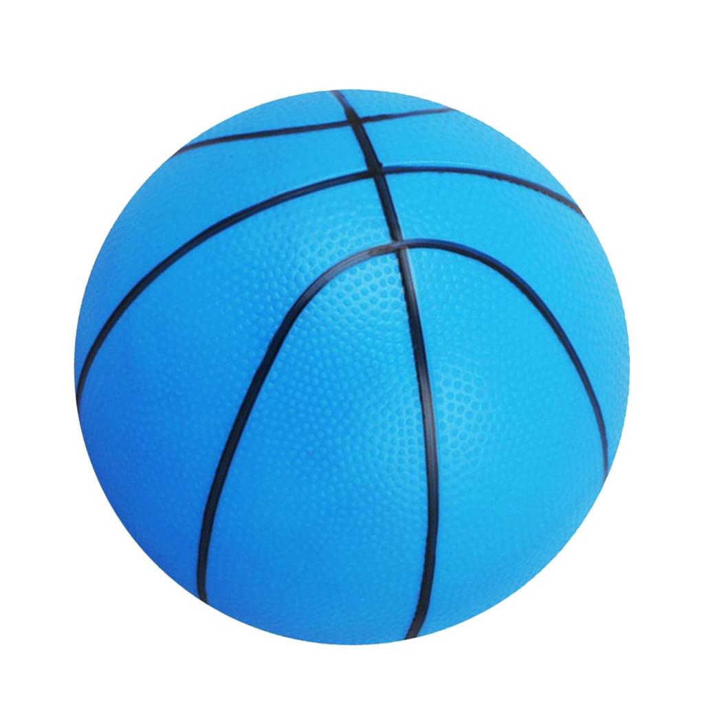 Pack 2 Lightweight PVC 16cm Mini Basketball Bouncy Ball Kids Boys Girls Toy