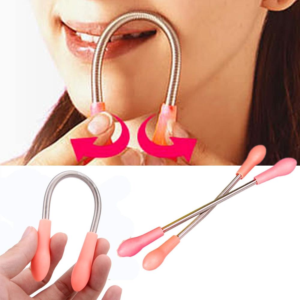 Personal Care Mini Face Hair Removal Device Facial Portable Manual Hair Removal Beauty Micro Spring Depilation Shaving Razor