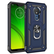 Sergeant anti-fall armor mobile phone shell car magnetic FOR:Motorola G7 plus power EU ring bracket protective cover case