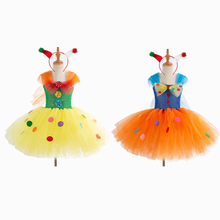 Cute Christmas Elf Costume Cosplay For Girls Halloween Kids Fairy Dress Up Carnival Party Suit