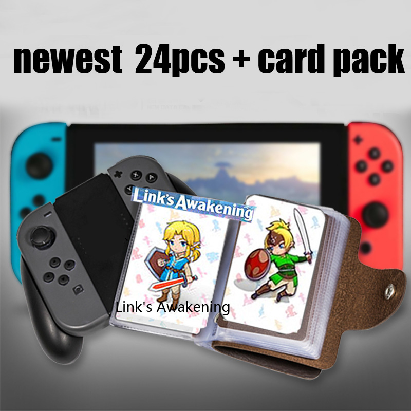 Image 2 - zelda Breath for the Wild zelda amiibo card Link Awakening Young Link NFC card ntag215 Diablo Splatoon 2 Super Odyssey-in IC/ID Card from Security & Protection