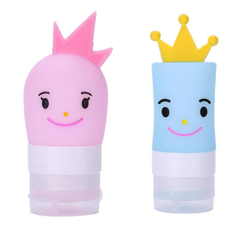 40ml Cartoon Empty Silicone Squeeze Bottle Lotion Travel Packing Container