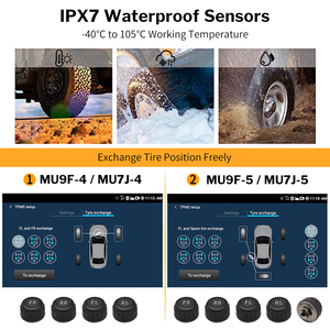 Image 5 - Deelife Android TPMS for Car Radio DVD Player Tire Pressure Monitoring System Spare Tyre Internal External Sensor USB TMPS