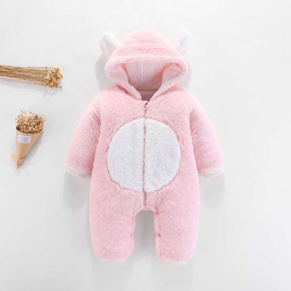 2019 детские комбинезоны, одежда для малышей, одежда для мальчиков и девочек, хлопковые комбинезоны для новорожденных, Милая зимняя одежда для новорожденных