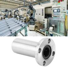 LMF Linear Motion Bearing Lengthen Round Flange Busing Linear Ball Bearing Router Shaft LMF6LUU/ LMF8LUU/ LMF10LUU/ LMF12LUU цена