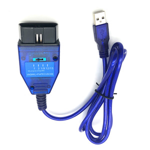 Image 3 - OBD2 FTDI FT232RL, Cable USB, escáner de diagnóstico OBDII para VW, Audi, Seat, Skoda, KKL, VAG COM, 409,1
