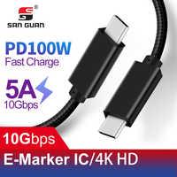 3M USB C Kabel 3,2 Gen2 für VR Oculus Quest Typ C PD 100W 4K Video Kompatibel thunderbolt 3 für Macbook Pro Samsung S10 huawei