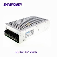 цена на DC 5V Power Supply 200W 40A AC 110V/220V To DC 5V Switch Power Supply Security Adapter Power Supply For LED Strip Light motor