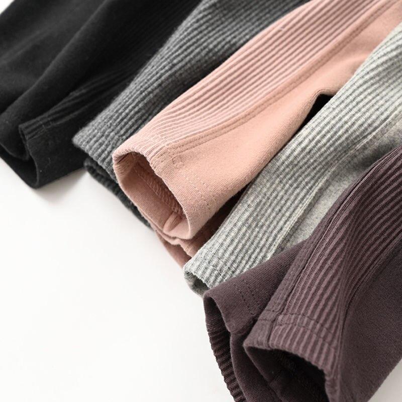Vidmid New Grils Pants Children Winter Thick Fleece Warm Trousers Girls Leggings Warm Elastic Waist Cotton Leggings P215 6