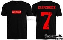 Im ile Kap # IMWITHKAP gömlek United biz Stand Colin Kaepernick 7 yumruk kutusu logosu