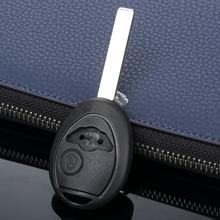 Чехол для автомобильного ключа с 2 кнопками Сменный подходит