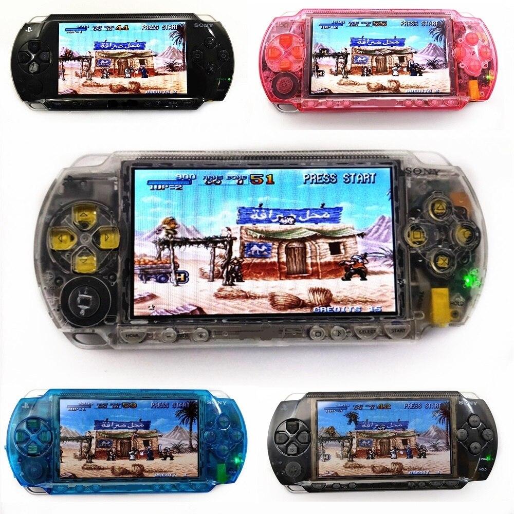 Профессионально отреставрированный для Sony Оборудование для PSP 1000 Оборудование для PSP 1000 ручной Системы игровой консоли|Запасные части| | АлиЭкспресс
