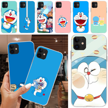 Baweite Anime Doraemon untuk iPhone 5C 5 5S SE 7 8 Plus X XS XR X Max 11 11 Pro 11 Pro Max(China)