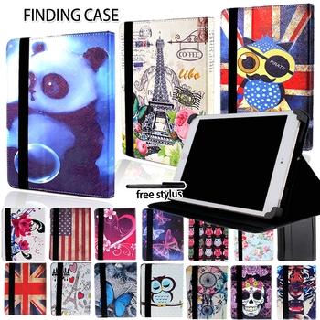 Scratch Resistant Leather Stand Cover Case for Lenovo Smart Tab M10/Tab P10 /Tab E10/Tab A10-70 Multicolor Tablet Accessories - discount item  10% OFF Tablet Accessories