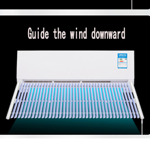 Adjustable Air Conditioner Cover Windshield Louver  Shield Wind Guide Straight Anti-wind Wall Mount