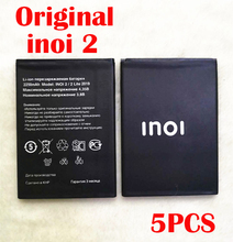 цена на Original 5PCS 2200mAh inoi2 Battery For INOI 2 Lite INOI2 Lite Phone In Stock NEW Production High Quality Battery+Tracking Code