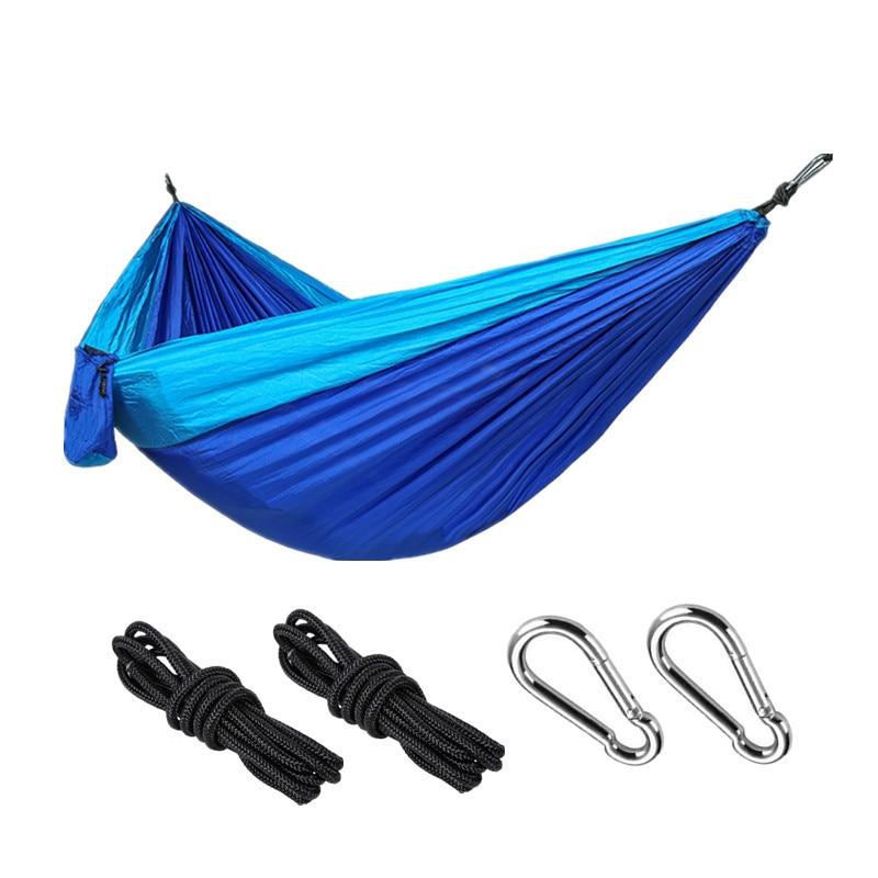 Hammock With Tree Straps Garden Outdoor Camping Hammocks Nylon Lightweight Multifunctional Parachute For Park,Backyard,Traveling