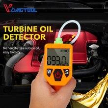 Olej silnikowy Tester do automatycznej kontroli jakości oleju detektor z wyświetlacz LED analizator gazów samochodu narzędzia do testowania wstrzyknąć sprawdź olej Tester