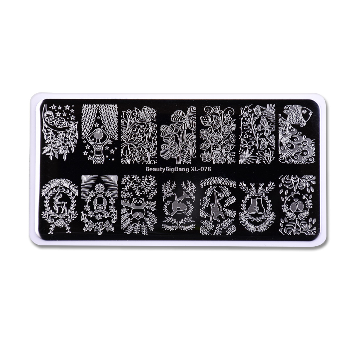 Beautybigbang placas de carimbo molde da arte