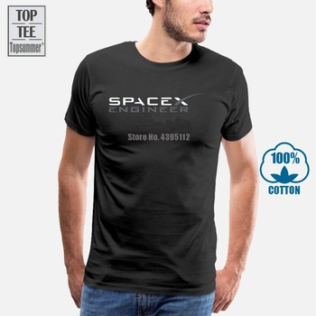 T Shirt Spacex T-Shirt Mens Round Neck Short Sleeves Bottoming T-Shirt Fashion T Shirt Tops Clothing pink tiered flounced details crossed front cold shoulder long sleeves t shirt