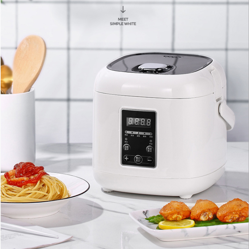 1.8L Smart Electric Rice Cookers Kitchen 220V 400W Multifunction Mini Home Cooker Appliances for 3-4 People Support Reservation