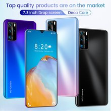 P40 Pro 7.3 inch 2+16GB mobile phone smart phone Face recognition technology Practical Fashion smart phone