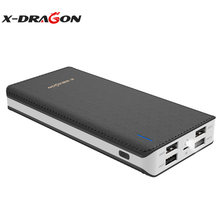 X-DRAGON batterie externe Portable 24000mAh batterie externe 4 USB sortie Charge rapide pour iPhone X Xiao mi a2 Note 8 Xiomi honneur(China)
