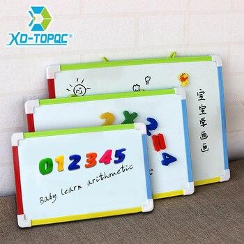 3 Style Kids tablica magnetyczna sucha gumka biała tablica z darmowe upominki magnesy numeryczne przedszkola dzieci Memo tablice informacyjne