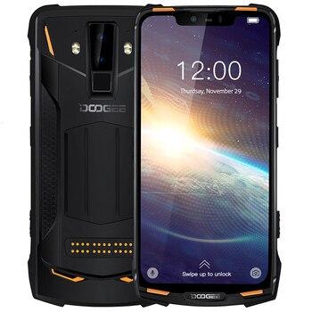 Перейти на Алиэкспресс и купить Ударопрочный мобильный телефон DOOGEE S90 Pro NFC, IP68, 6 ГБ + 128 Гб, Android 9,0, 5050 мАч, Helio P70 восемь ядер, 16 Мп + 8 Мп, 4G, прочный смартфон