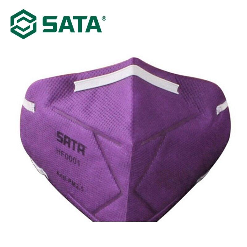 1pc SATA Dust Mask Disposable Dust Mask Multi-Color Random Color HF0001