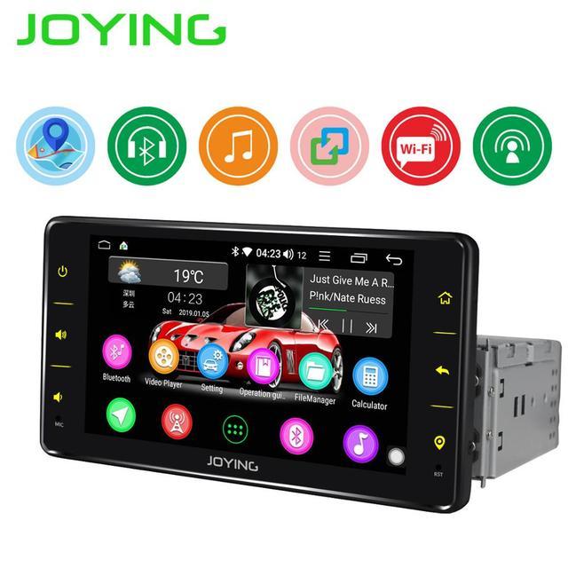 "JOYING 6.2 ""אחת 1 Din אנדרואיד אוטומטי רכב רדיו סטריאו אוניברסלי ראש יחידת GPS מולטימדיה נגן DVR אביזרי אחורי תצוגת מצלמה"