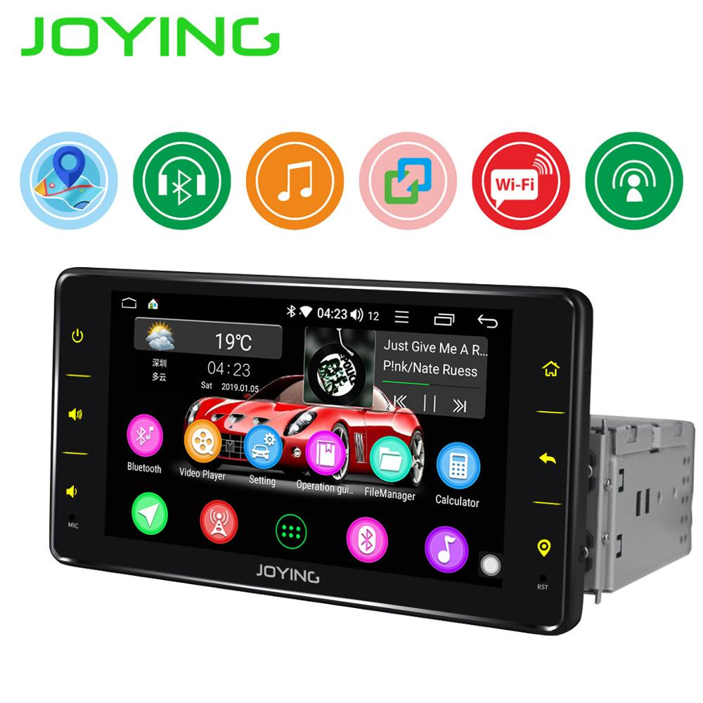"JOYING 6.2""Single 1 Din Android Auto Car Radio Stereo Universal Head Unit GPS Multimedia Player DVR Accessories Rear View Camera"
