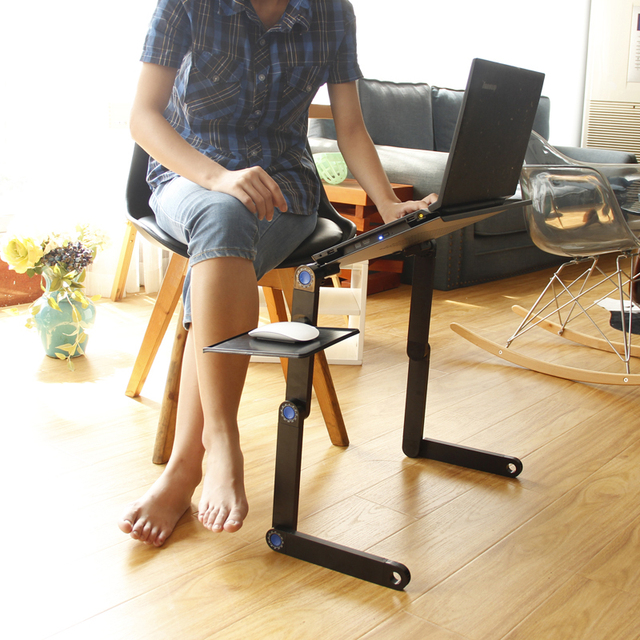 Adjustable Lifting Laptop Table  5