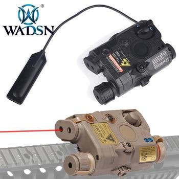WADSN Airsoft PEQ-15 LA-5 Red Laser M3X Illumination Kit Tactical Flashlight