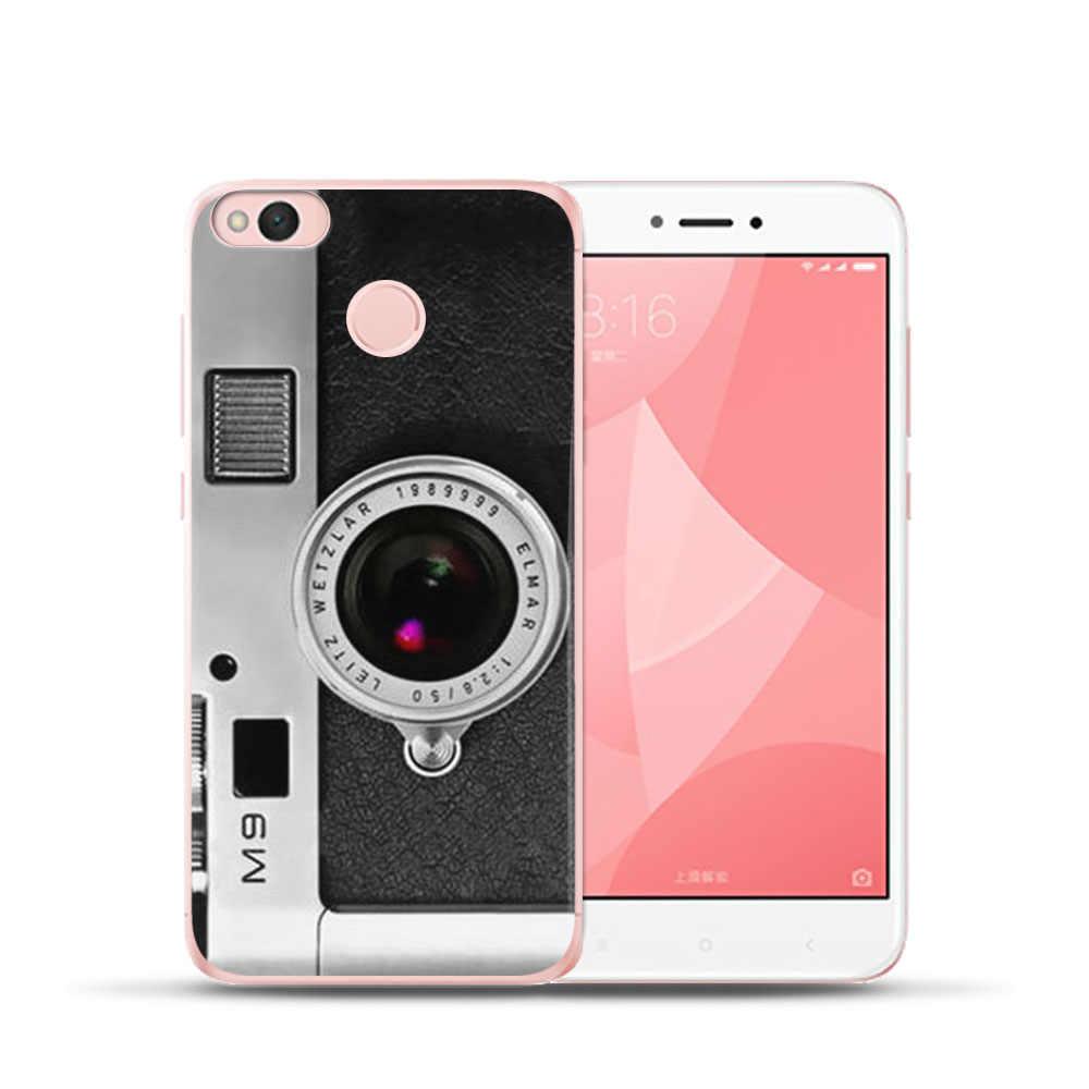 Funda キーボード電話ケース Xiaomi MI8 Redmi 6 6A 4 4A 4X 5A Note4 4X Mi6 5X A1 ソフトシリコーンカバー Coque 携帯電話シェル