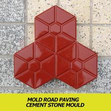 DIY Garden Path Tile Paving Mold Home Road Concrete Driveway Stone Path Mold Scope of Application Sidewalk and Terrace
