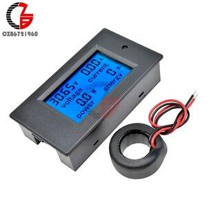 50A/100A AC 80-260 В/DC 6,5-100 в цифровой вольтметр Амперметр Wattmeter измеритель мощности 12 в 24 в 110 В 220 В Вольт тестер детектор