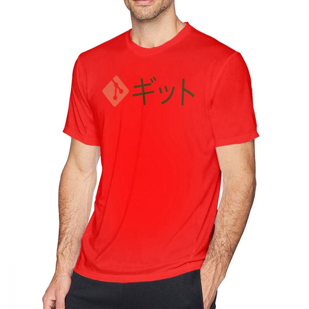 US $10 08 45% OFF Github T Shirt Japanese Git T Shirt Graphic Men Tee Shirt  Funny Short Sleeve Classic Oversized 100 Percent Cotton Tshirt-in T-Shirts