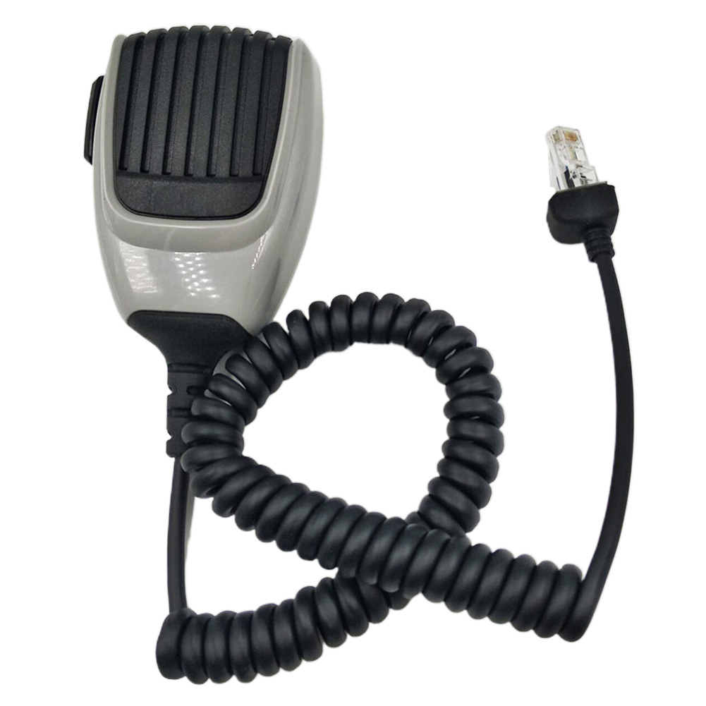 HM-148G Durable Speaker With Screw Communication Handheld Ham Mic ABS Self Grounding Car Mounted Mobile Radio For ICom Series