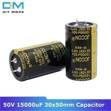 С алюминиевой крышкой, 50В 15000 мкФ 30x50 мм X 30x50 Алюминий электролитический конденсатор с алюминиевой крышкой, высокая частота низкое сопротивление со сквозным отверстием конденсатор с алюминиевой крышкой, размер 30*50 мм