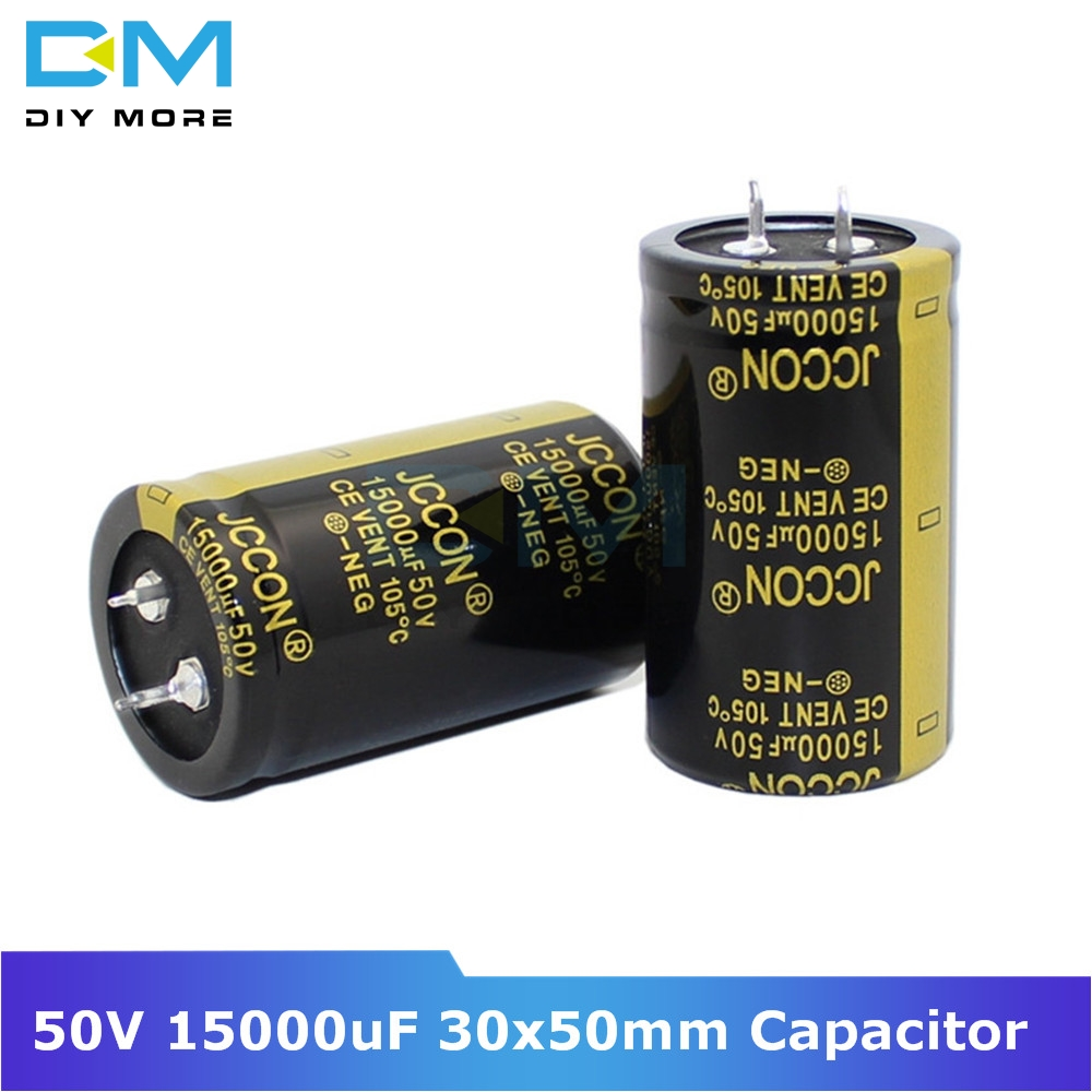 50V 15000uF 30x50mm 30X50 Aluminum Electrolytic Capacitor High Frequency Low Impedance Through Hole Capacitor Size 30*50mm