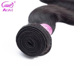 Image 5 - Ariel 360 Dantel Frontal Vücut Dalga İnsan Saç 130% Yoğunluk Ön Koparıp Bebek Saç Ile Moğol Olmayan Remy Dantel Frontal 10 20 inç