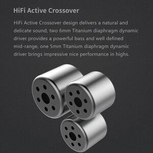 Image 4 - Dunu dm380 hi res layout linear triplo titânio diafragma driver in ear fone de ouvido com alta fidelidade ativo crossover mic facilmente conduzido