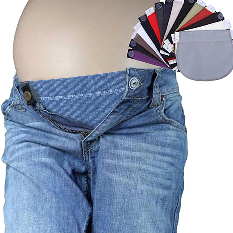 Maternity Pregnancy Belt Adjustable Elastic Waist Extender Clothing Pants